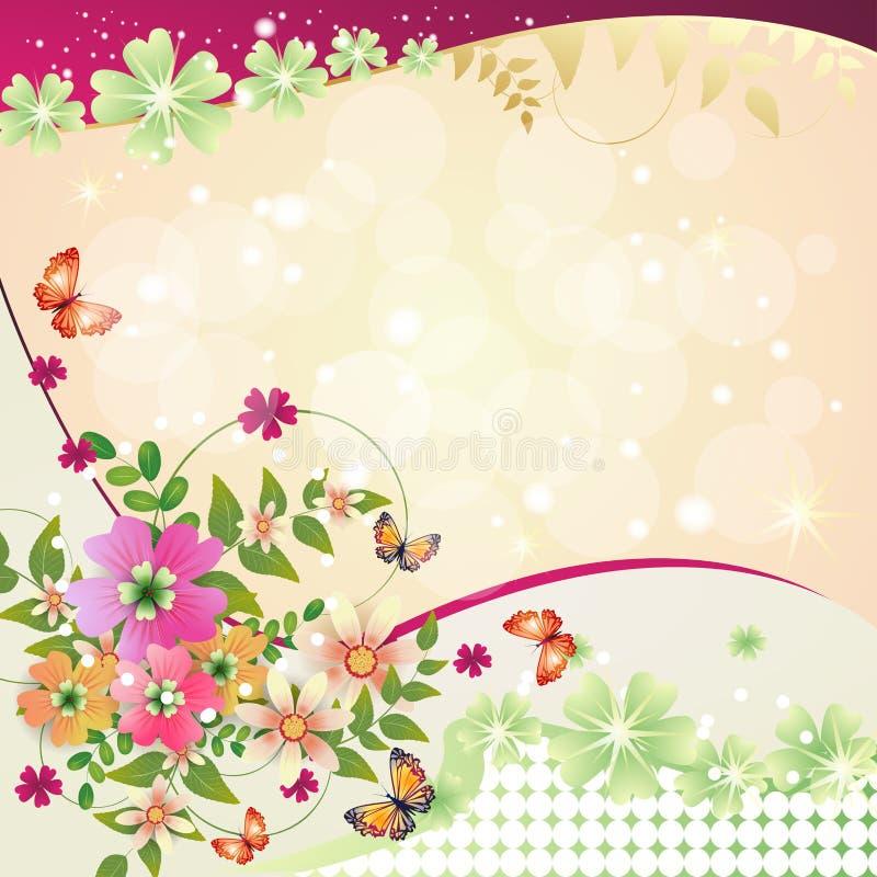 Download Springtime background stock illustration. Illustration of card - 25548160