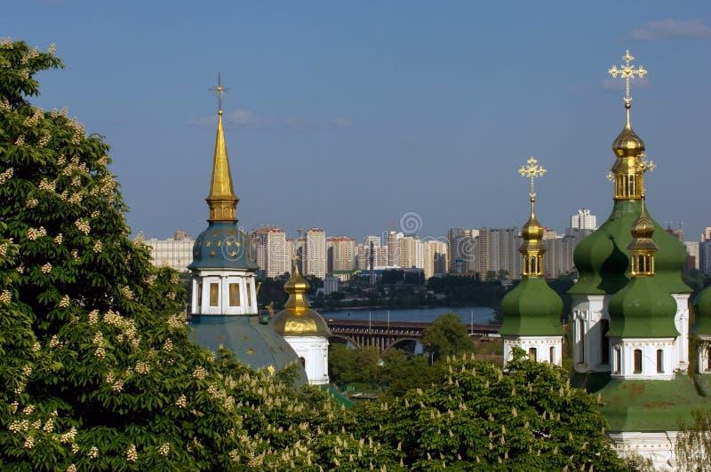 Springtime in Kiev stock image