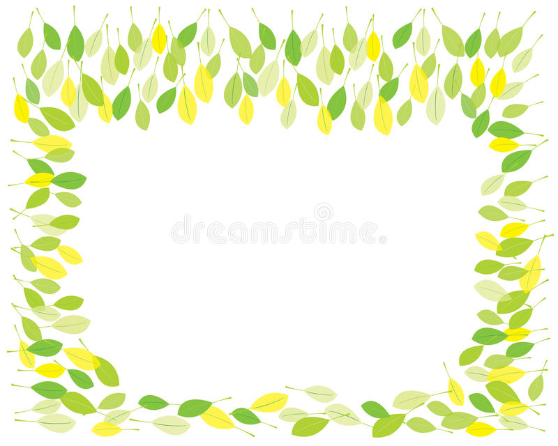 Download Springtime leaves stock vector. Illustration of greenery - 18424409