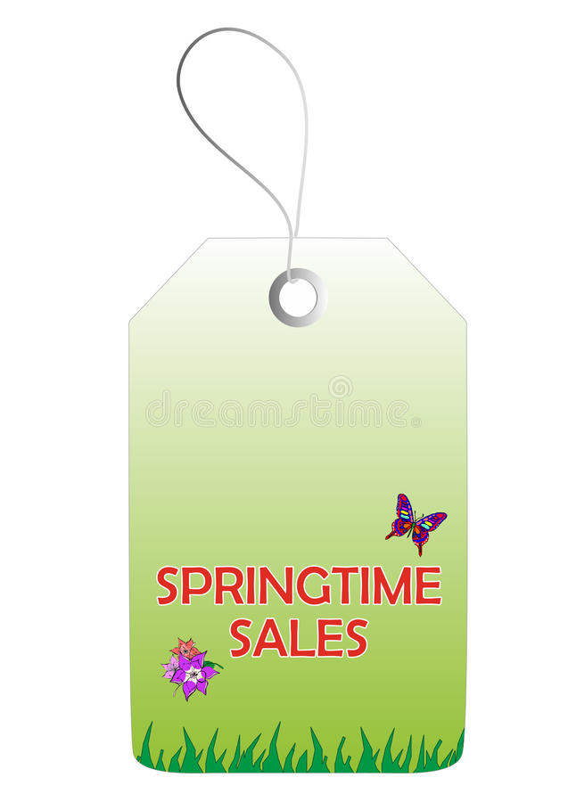 Download Springtime sales tag stock photo. Image of price, labeling - 27714400