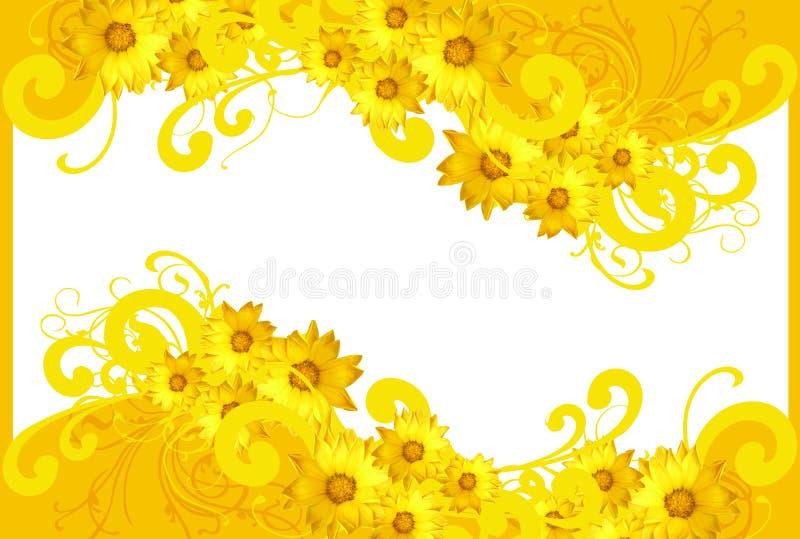 Springtimemotiv stock illustrationer