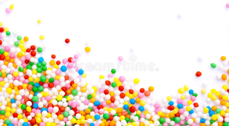 Sprinkles stock image