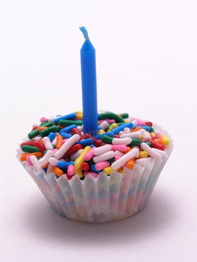Sprinkles Cupcake stock photography