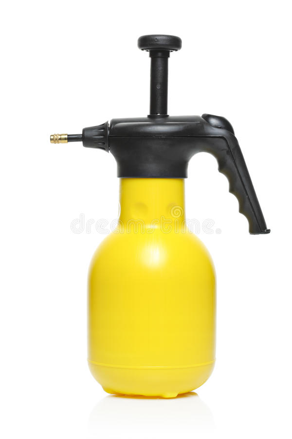 Sprinkling can. A sprinkling can isolated on a white background royalty free stock images
