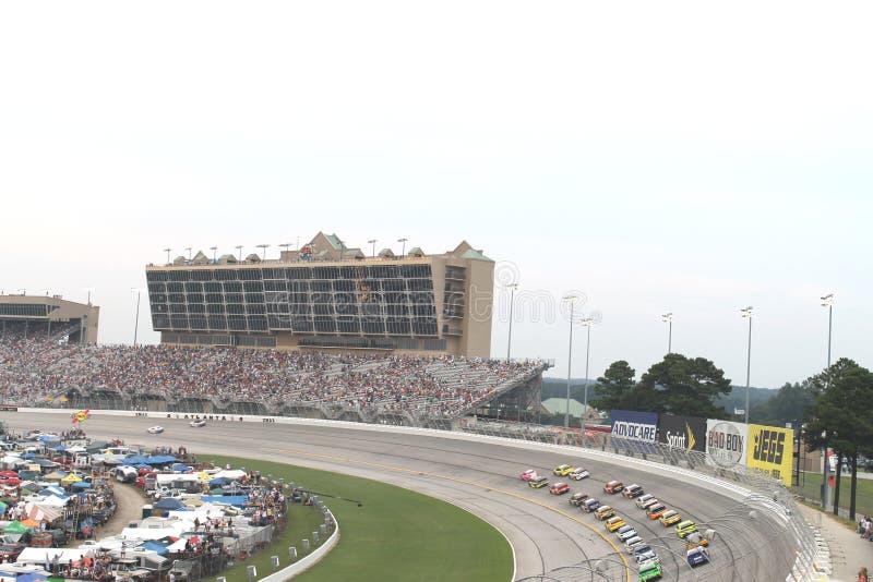 Sprint Copo-Atlanta Motor Speedway de Nascar foto de stock