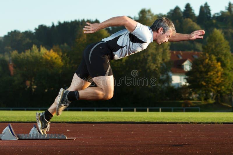 Sprint start royalty free stock photography