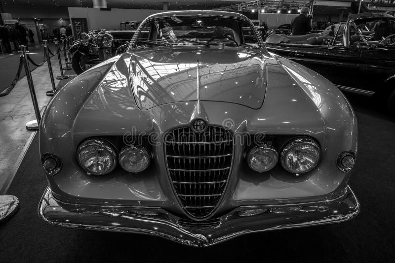Sprint Supergioiello por Ghia, 1953 de Alfa Romeo 1900C do carro de esportes fotos de stock royalty free