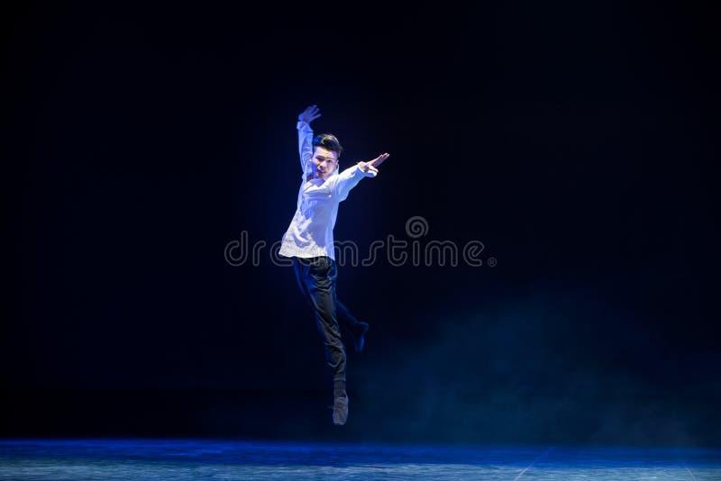Sprinted-современный танец стоковое фото rf