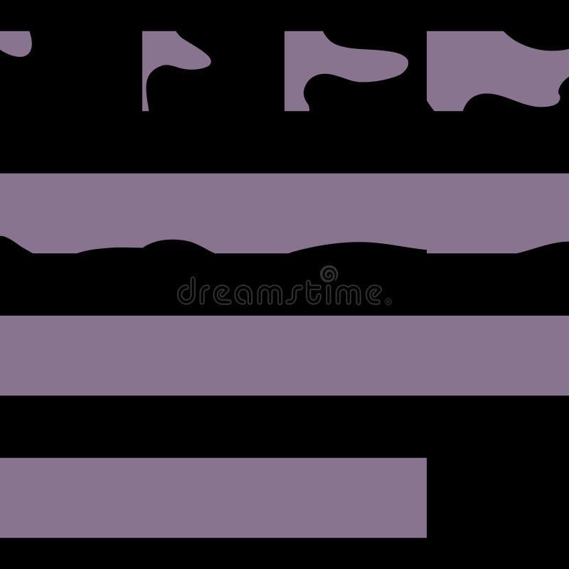 Sprite cubre transiciones Aliste para los juegos o la historieta ilustración del vector