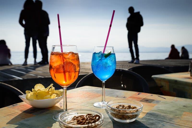 Spritz no lago Garda imagem de stock royalty free