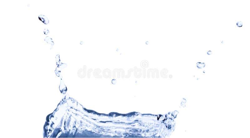 Spritzen des Wassers lizenzfreies stockbild