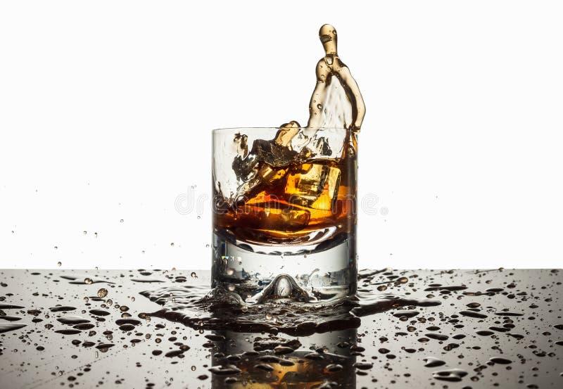 Spritzen Sie den Alkohol stockbild