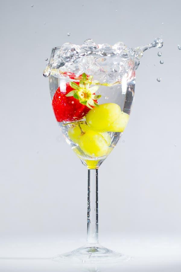 Spritzenfrucht stockfoto