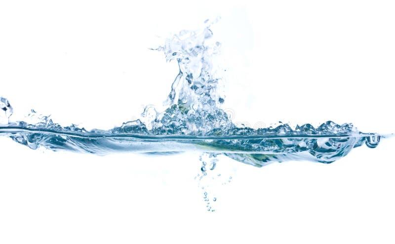 Spritzenwasser lizenzfreies stockbild