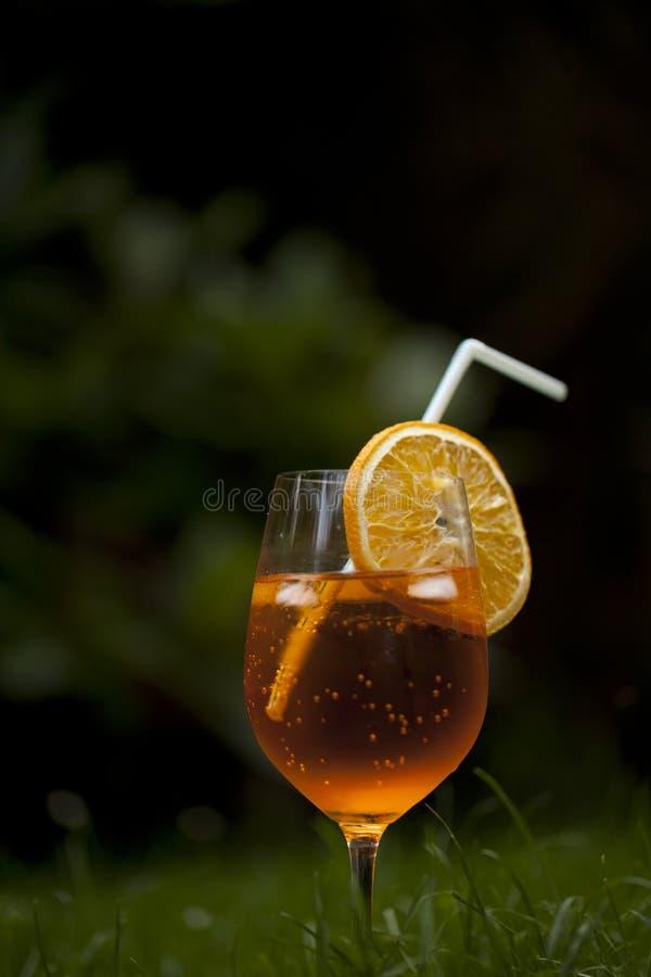 Spritzer на траве стоковое изображение