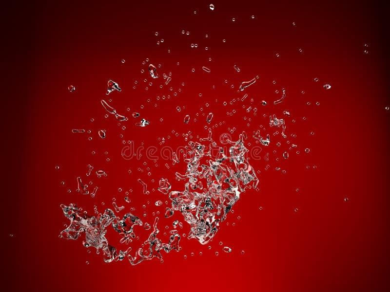Spritzwasser stockbilder
