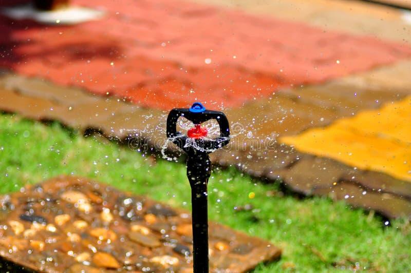 Sproeier van het automatische water geven royalty-vrije stock foto