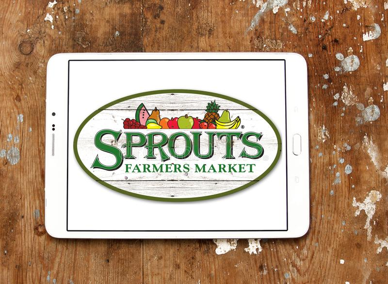 Sprouts Farmers Market logo royalty free stock photography