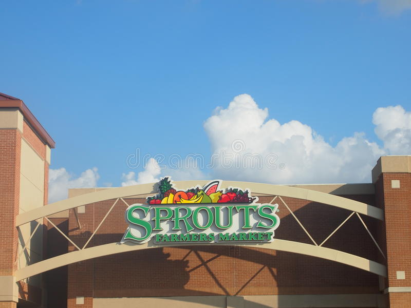 Sprouts Farmers Market in Plano Texas U.S.A stock photography