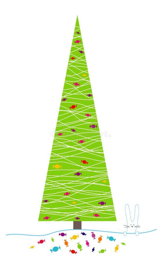 Download Spruce christmas tree stock illustration. Illustration of line - 11310324