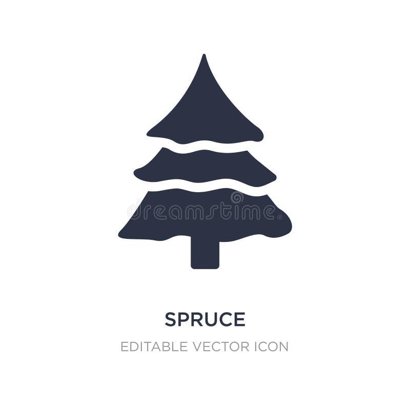 Big W White Christmas Tree: Minimal Christmas Tree Stock Illustration. Illustration Of