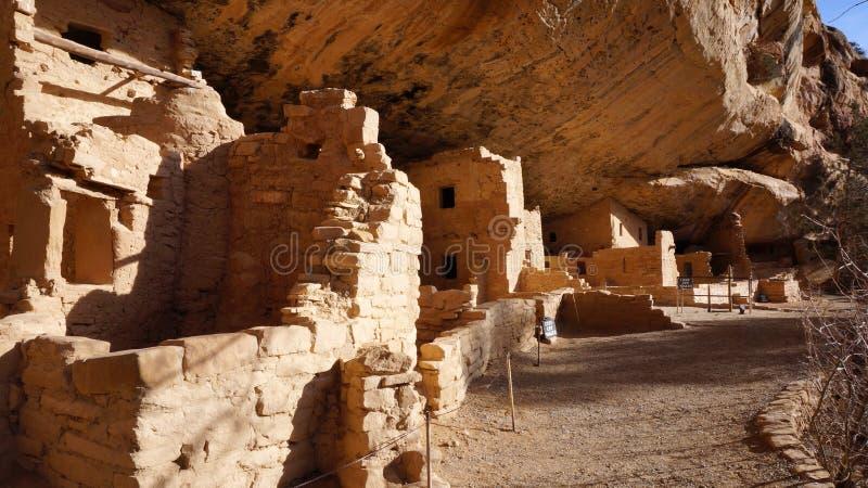Spruce Tree House, Mesa Verde National Park stock image