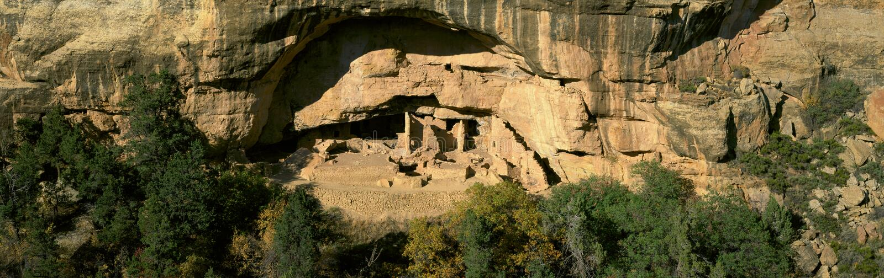 Spruce Tree House, Mesa Verde National Park, Colorado royalty free stock photos