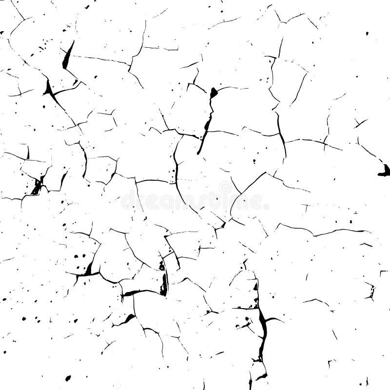 Sprucken samkopieringstextur vektor illustrationer