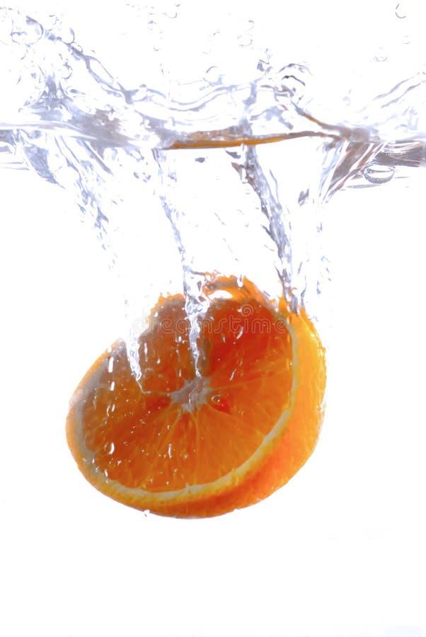 Spruzzata arancione immagine stock libera da diritti