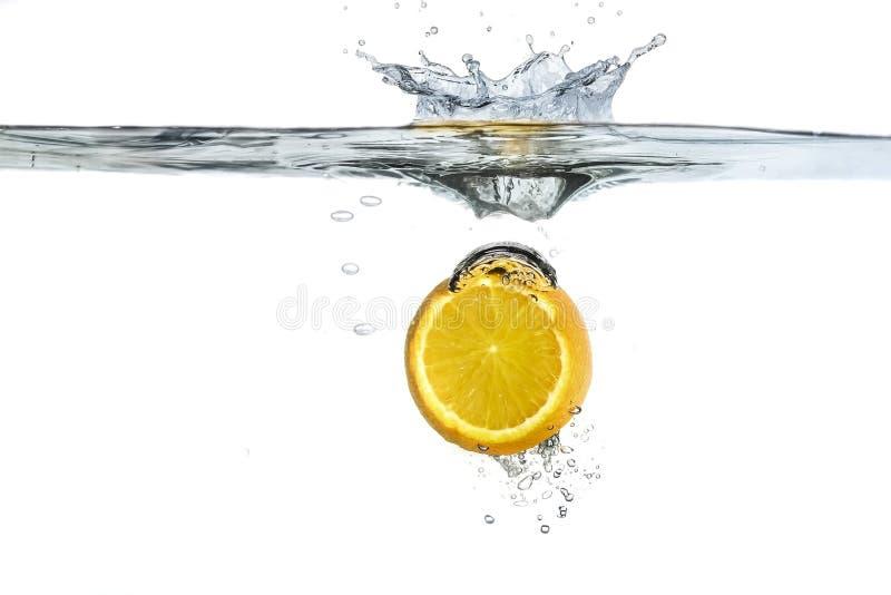 Spruzzata arancione immagine stock