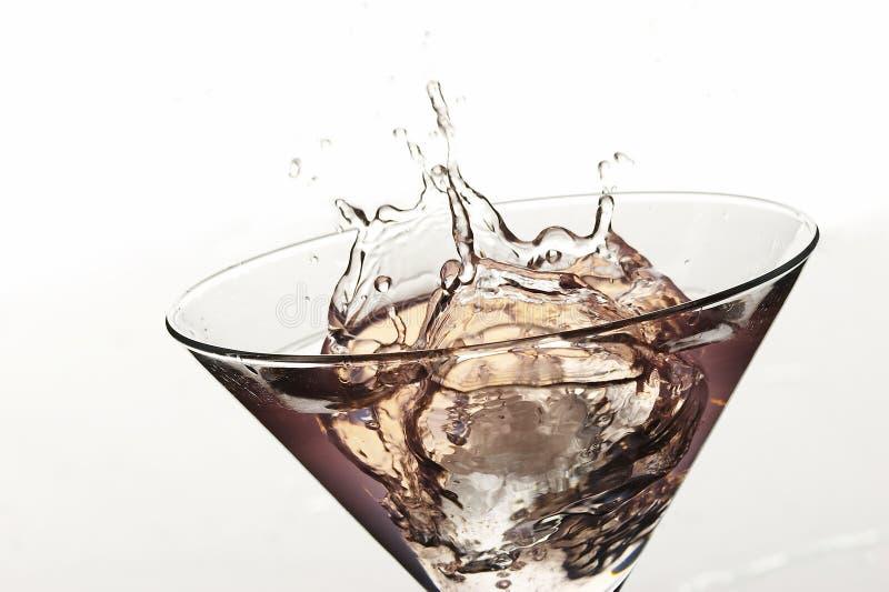 Spruzzata del cocktail fotografia stock libera da diritti