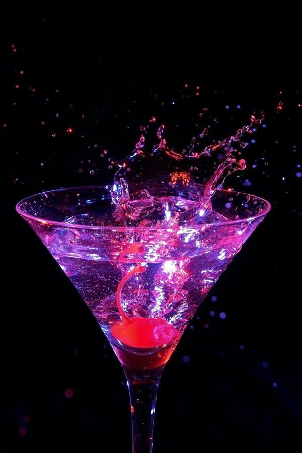 Spruzzata del Martini fotografia stock