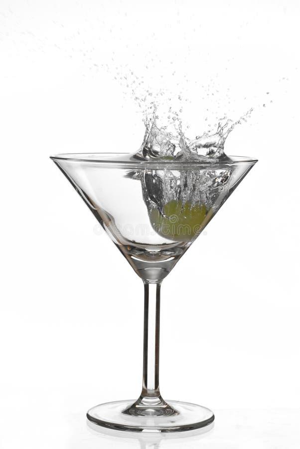 Download Spruzzata del Martini immagine stock. Immagine di nessuno - 7310641