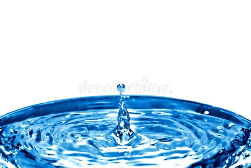 Spruzzata dell'acqua su acqua turbolenta fotografie stock libere da diritti