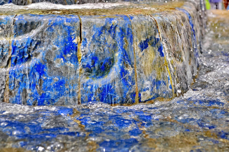 Spruzzata della fontana immagine stock
