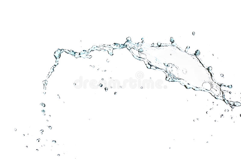 Spruzzata di acqua