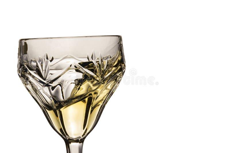 Spruzzata di vino bianco immagine stock libera da diritti