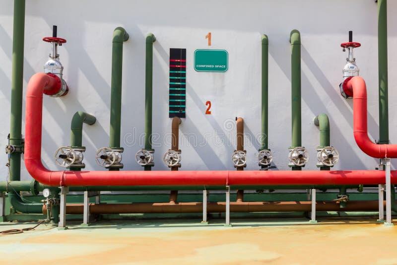 Spruzzatore dell'acqua per il sistema di allarme antincendio immagine stock libera da diritti