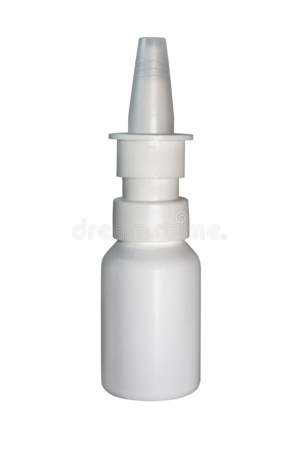 Spruzzo nasale fotografie stock libere da diritti