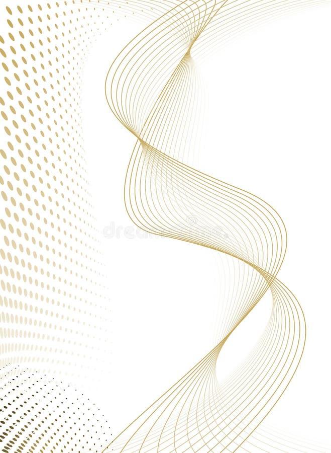 Spruzzo supplementare di flusso illustrazione vettoriale
