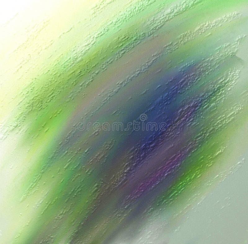 Spruzzo verde variopinto fotografia stock