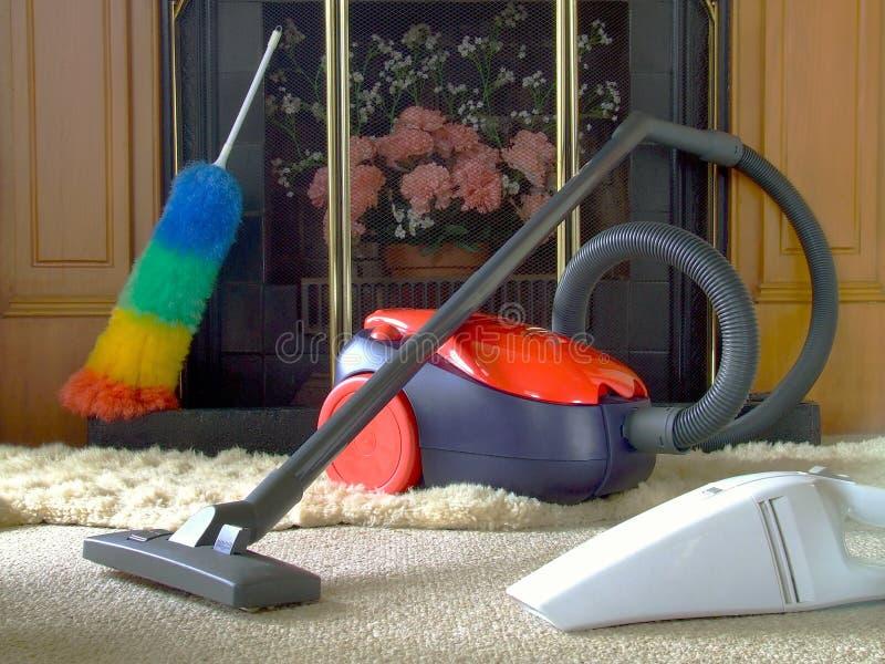 sprząta dom fotografia royalty free