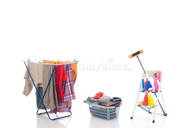 sprzątaczka gospodarstwa domowego obraz royalty free