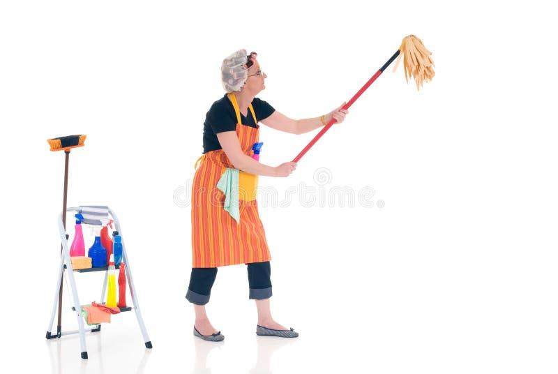 sprzątaczka gospodarstwa domowego obrazy royalty free