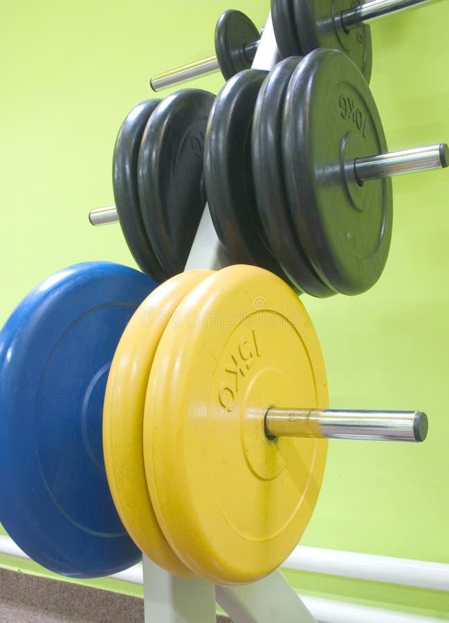 sprzęt fitness fotografia stock