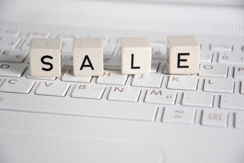 sprzedaż zdjęcie stock