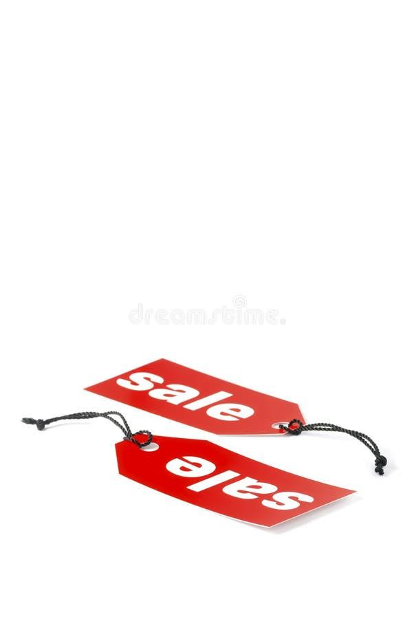 sprzedaż etykietowania zdjęcie stock