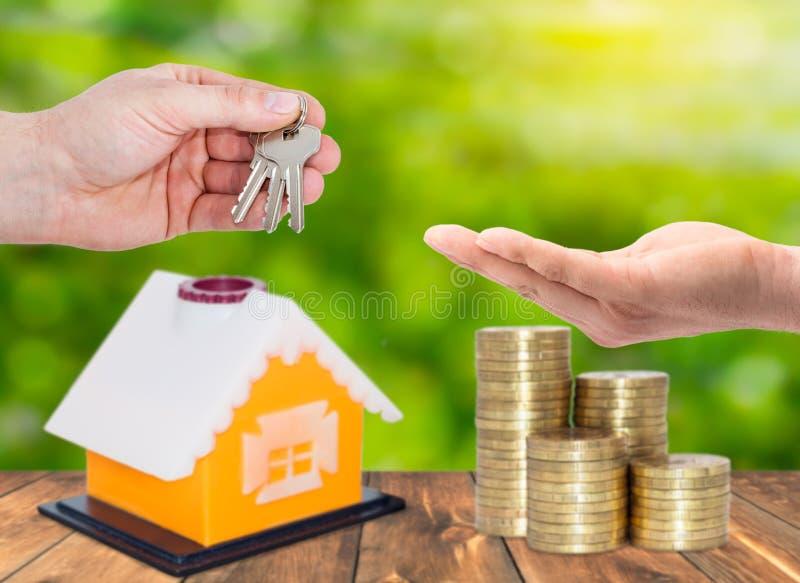 Sprzedaż i do wynajęcia własność, pożyczki fotografia royalty free