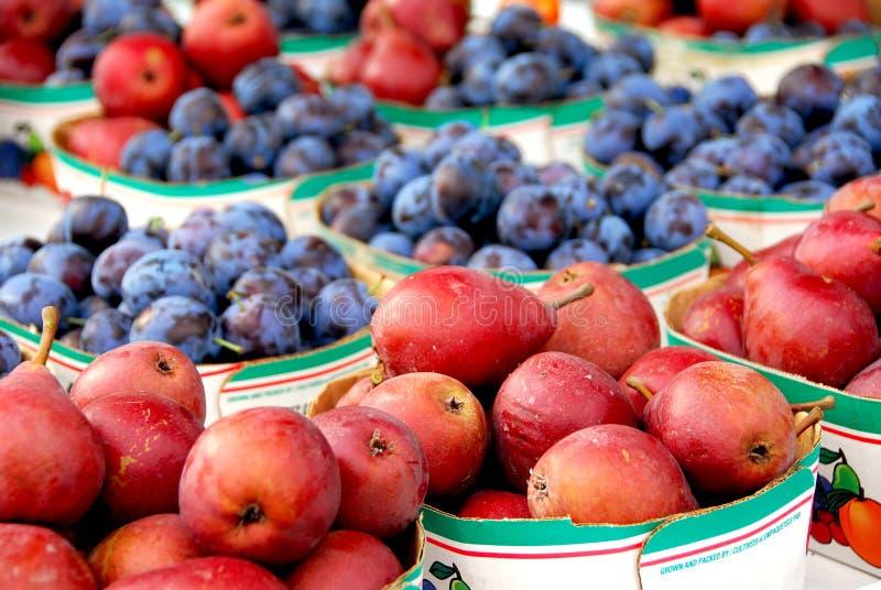 sprzedaż owoców obraz stock