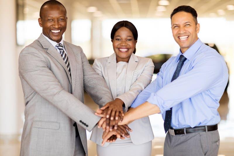 Sprzedaż personelu ręki wpólnie obraz stock